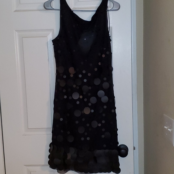 Jessica Simpson black cocktail dress